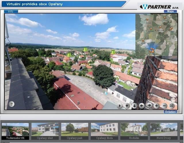 Virtuální prohlídka obcemi